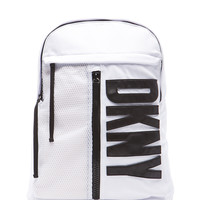 x DKNY Backpack in White & Black