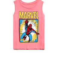 Neon Spiderman Muscle Tee (Kids)