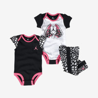 JORDAN AJ'S SPORTY ROMPER THREE-PIECE