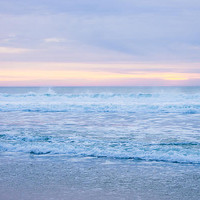 Last Light On The Pacific Ocean Photograph by Priya Ghose - Last Light On The Pacific Ocean Fine Art Prints and Posters for Sale