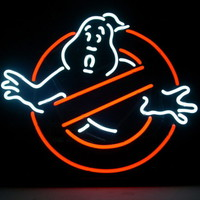 New Ghostbusters Real Glass Neon Light Sign Home Beer Bar Pub Sign L41