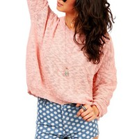 Mesh Visions Knit | Knit Sweaters at Pink Ice