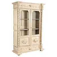 French Henri II-Style Painted Bookcase
