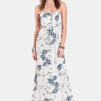 Leading Lady Floral Maxi Dress