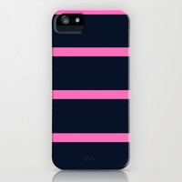 Stripe 2 iPhone & iPod Case by KrashDesignCo.