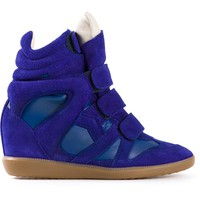 Women - Isabel Marant 'Burt' Hi-Top Sneakers - Tessabit.com – Luxury Fashion For Men and Women: Shipping Worldwide
