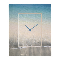 Aimee St Hill Bequia Rectangular Clock