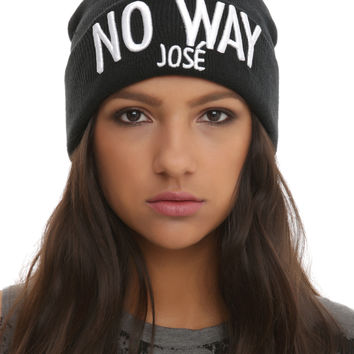 No Way José Watchman Beanie