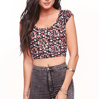 LA Hearts Cross Back Crop Top at PacSun.com