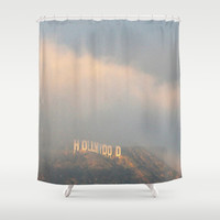 Hollywood Shower Curtain by Marianna Tankelevich