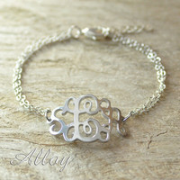 Classic Monogram Bracelet from P.S. I Love You More Boutique
