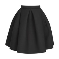 Double Face Jersey Crepe Skirt by Kenzo - Moda Operandi
