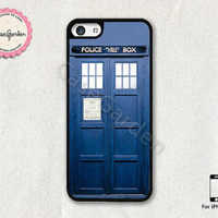 Doctor Who Tardis Police Box iPhone 5C Case, iPhone Case, iPhone Hard Case, iPhone 5C Cover