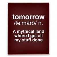 Tomorrow Definition