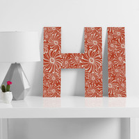 Heather Dutton Bursting Bloom Spice Decorative Letters