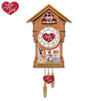 I Love Lucy Cuckoo Clock by The Bradford Exchange