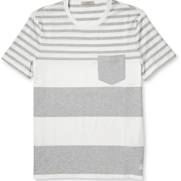 Burberry Brit - Tolsford Striped Cotton-Jersey T-Shirt | MR PORTER