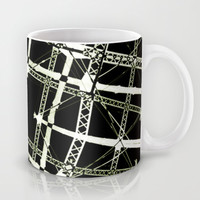 High Tech Grid Mug by Danflcreativo
