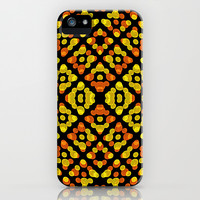 Abstract Swirls Pattern iPhone & iPod Case by Danflcreativo