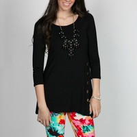 Geneva Button Tunic! 13 Color Options!