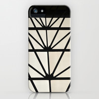 Abstract Construction  iPhone & iPod Case by Sari Klein