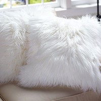 Faux Fur Pillow Cover - Long Shaggy