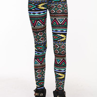 TRIBAL MOSAIC LEGGINGS