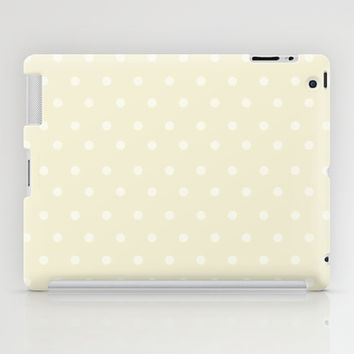Polka Spots iPad Case by Texnotropio