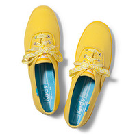 Keds Shoes Official Site - Champion Gingham Lace