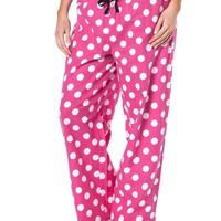 Womens Cotton Flannel Sleepwear Pajama bottom pants