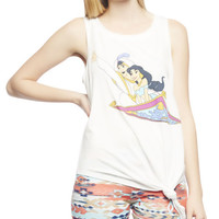 Jasmine & Aladdin Side Tie Tank | Wet Seal
