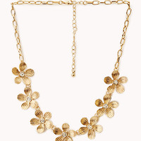 Garden Goddess Floral Necklace
