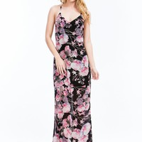 Blossomy Floral Maxi Dress