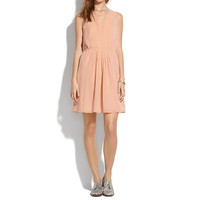 silk pleated minidress