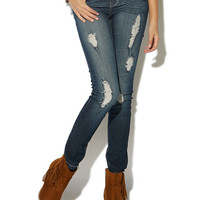 Second Skin Jegging - Short - WetSeal