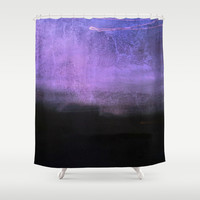 Absence Shower Curtain by Yoshigirl