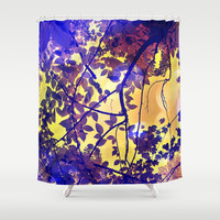 Inspire Shower Curtain by Yoshigirl