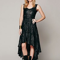 Free People Lovely Lurex Gown