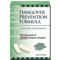 HPF Hangover Prevention Formula 10 ct. Box