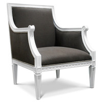 Jonathan Adler Regent Arm Chair in In Stock And Casegoods