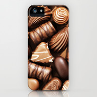 SWEET YUMMY CHOCOLATE iPhone & iPod Case by Ylenia Pizzetti