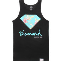 Diamond Supply Co Chill Floral 14 Tank Top at PacSun.com
