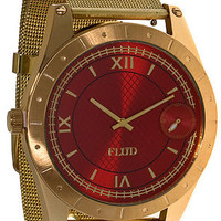 The Big Ben Watch With Interchangeable Bands in Red