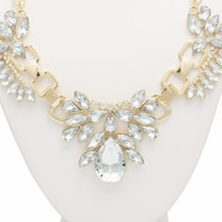 The Jewels Embellished Necklace Set - GoJane.com