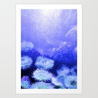 under the sea Art Print by Sari Klein
