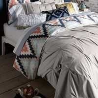 Blissliving Home 'Harper - Grey' Cotton Sateen Duvet Cover & Shams (Online Only)