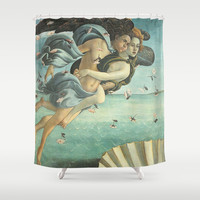 Angels and Venus  Shower Curtain by BeautifulHomes