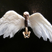 Skeleton Angel Spine Magnet
