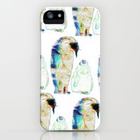 Remix Emperor Penguins iPhone & iPod Case by Ben Geiger
