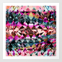 Wild Mix #6 Art Print by Ornaart